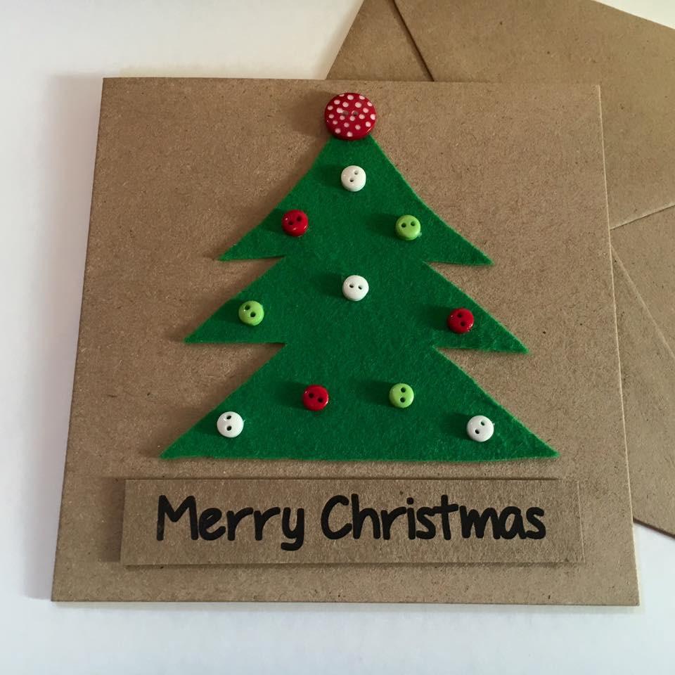 Oh Christmas Tree Handmade Christmas Card Skelter