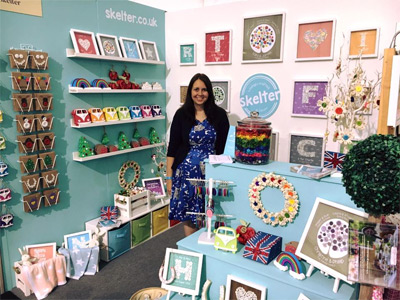 Skelter's Handmade Fair 2016 stand in Shopping Village East