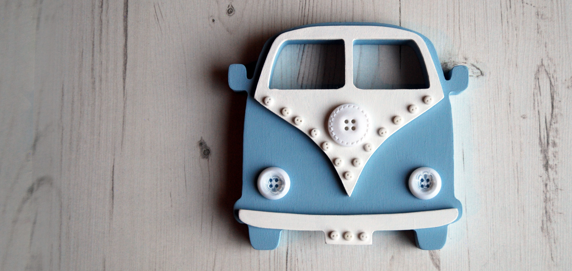 Our popular Campervans come in a range of bright colours